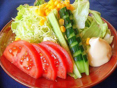 生野菜サラダ やきとり・ろばた焼きのむらやま